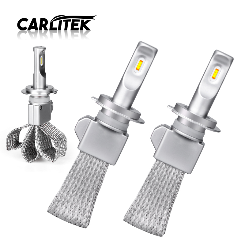 Carlitek <font><b>H4</b></font> <font><b>LED</b></font> Hi/Lo Beam Copper Dissipation Belt Car Bulbs H11 9005/HB3 9006/HB4 Light Lamp H1 H8 H9 Bulb H7 <font><b>LED</b></font> Auto <font><b>10000LM</b></font> image