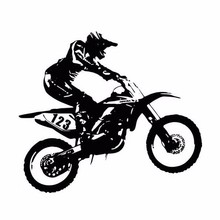 20.3cm*18cm Personality Motorcycle Fashion Funny Car Stickers Accessories