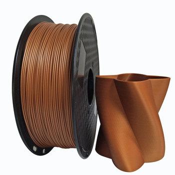 Metaliczna miedź PLA 1 75mm drukarka 3D Filament 1Kg 500g 250g szpula metalowe z teksturą miedź Metal PLA materiały do drukowania tanie i dobre opinie EasyThreed CN (pochodzenie) solid Metal 3D Printer PLA Filmant