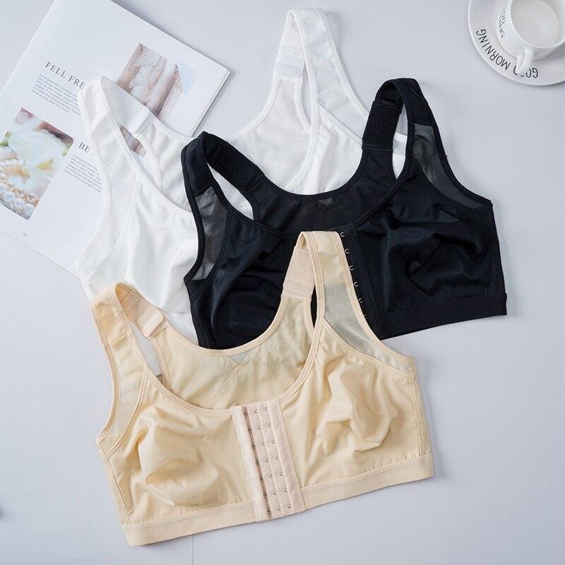 Posture Corrector Lift Up Bra Women Shockproof Active Support Vest Bras Breathable Underwear S-5XL Cross Back Corset Bra