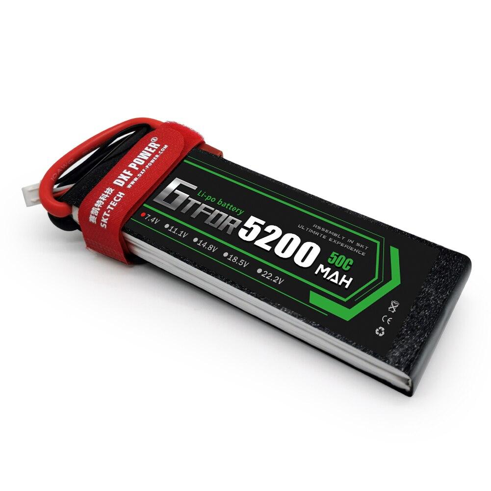 GTFDR 2S 7.4V 5200mah 50C LiPo
