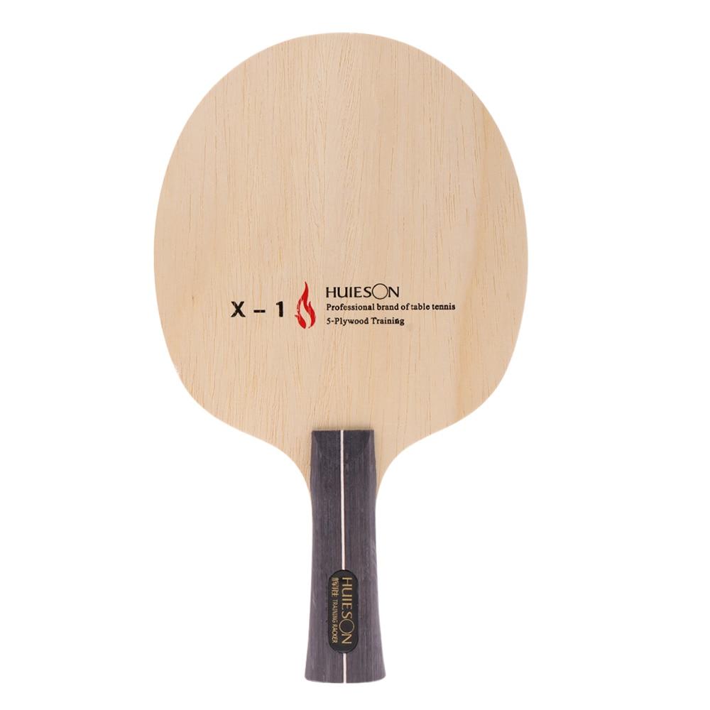 Table Tennis Ping Pong Racket Blade Long Handle Grip 5 Layers Medium Speed Bat