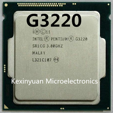 Intel Pentium Processor G3220 LGA1150 22 Nanometers Dual-Core 100% Working Properly Desktop Processor