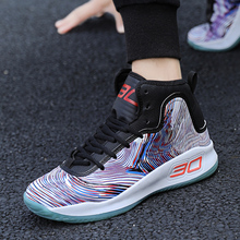 Autumn Hot-Sale Sneakers Basketball-Shoes Air-Cushion High-Top Outdoor Breathable for Nonslip Mens