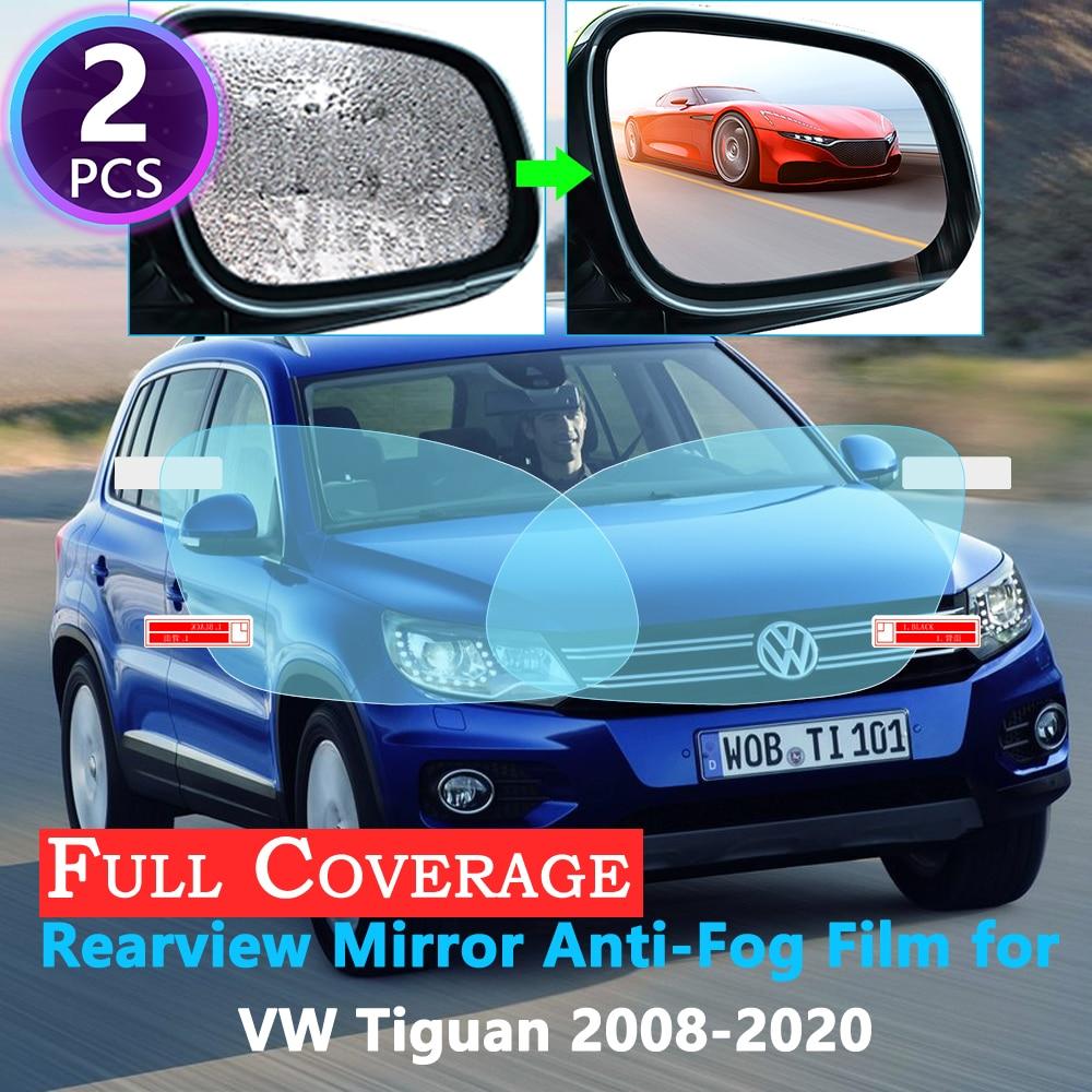 Полное покрытие Защитная противотуманная пленка для Volkswagen VW Tiguan MK1 MK2 2008 ~ 2020 автомобильные зеркальные непромокаемые пленки заднего вида 2018 2019 Наклейки на автомобиль      АлиЭкспресс