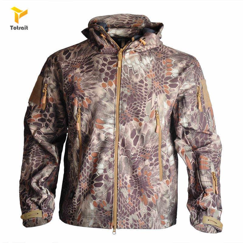 Тактические комплекты TOtrait, куртка или штаны Sharkskin TAD, мужские водонепроницаемые и ветрозащитные армейские охотничьи костюмы для активного отдыха, скалолазания и походов