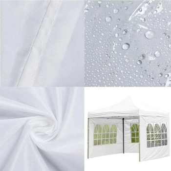 Portable Oxford Cloth Rainproof Garden Shade Party Waterproof Canopy Top Replacement Covers Shelter Windbar Gazebo