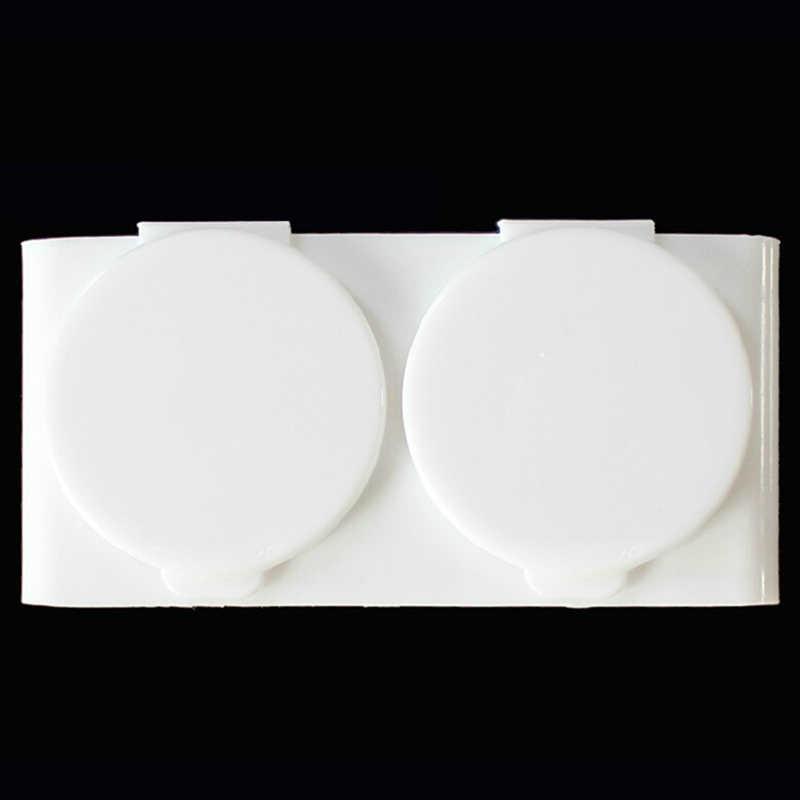 Płyn do akrylu danie z tworzywa sztucznego Dappen miska kubek z czapką płyn akrylowy brokat w proszku paznokci pióro umyć kawior paznokci stylizacja narzędzia