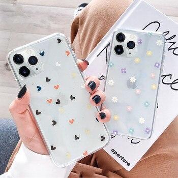 Перейти на Алиэкспресс и купить Мягкий чехол для телефона Samsung Galaxy S20 S20 Ultra Plus A51 A71 A10 A10S A50 A30 70 A7 S10E A8 J4 J6 J8 2018 чехлы с цветочным рисунком