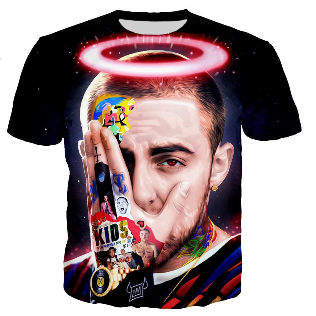 Mac Miller New Fashion 3D Printed Streetwear Shirt 1