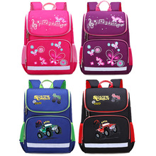 New Children School Bags Girls Butterfly School Backpack Kids mochilas Boy Car Knapsack Girl Backpack For School Cute Space Bag cute kitten cats puppy dogs print backpack pencil bag for teenager boy girl children school bags kids bookbag women backpack