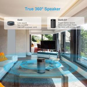 Image 5 - Ggmm D7 Krachtige Draagbare Speaker Batterij Case Voor Amazon Alexa Echo Dot (3rd Gen) 5200Mah Batterij Voor Echo Dot 3 7Hrs Spelen