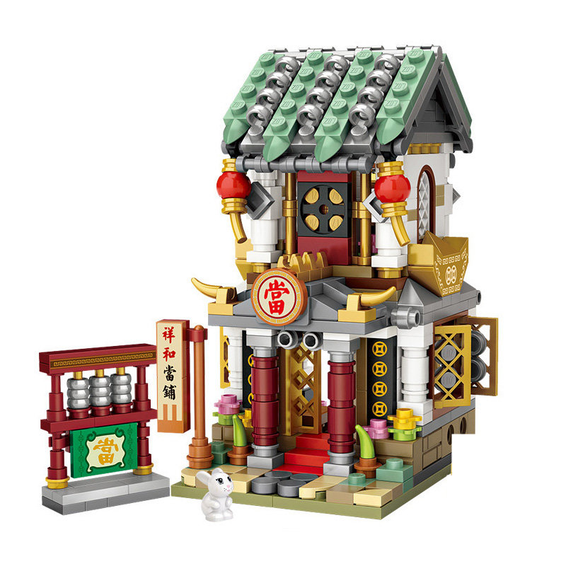 LOZ Mini Building Blocks Toys for Kids/&Adults Christmas//Thanksgiving//Birthday Gifts Street Seriers in Office Building