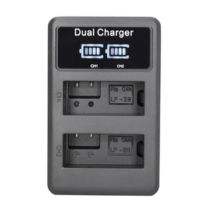 Lp-E8 Camera Battery Charger L