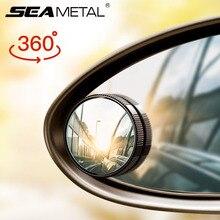 Auto Achteruitkijkspiegel Auto Kleine Ronde Spiegels Hd Bolle Spiegel Blind Spot Auto 360 Graden Groothoek Achteruitkijkspiegel accessoires