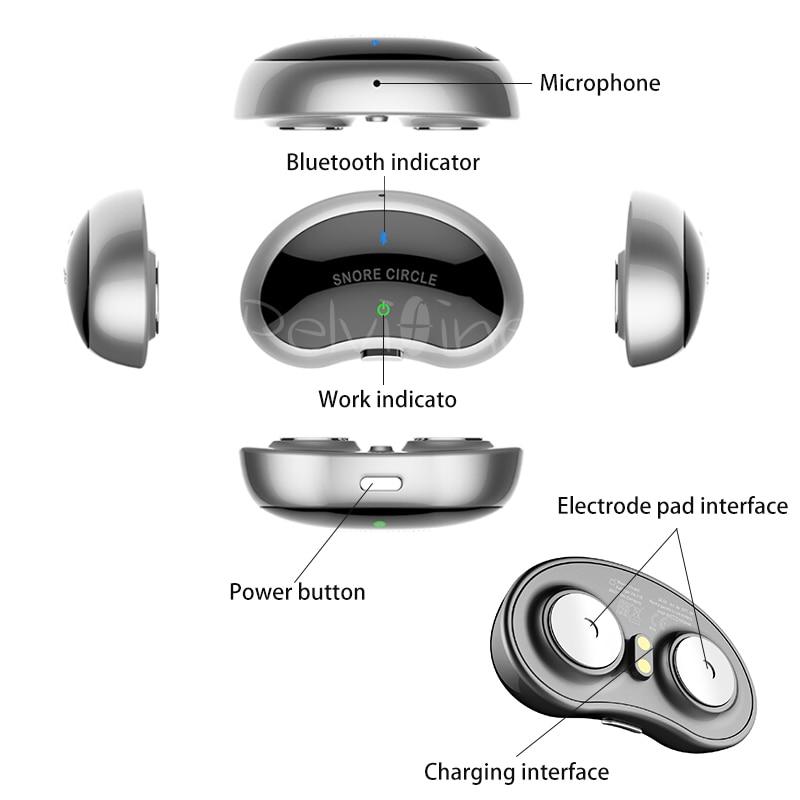 Smart Snore Stopper Anti Snore ronco Lösung komfortable anti Schnarchen Biosensor mit APP und schlafapnoe monitor CPAP ersatzstoff - 5