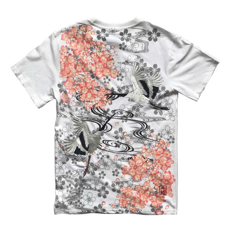 2020 Nieuwe Collectie Real Hip Hop Tshirt Hot Koop T-shirt Mannen Kwaliteit Goederen Borduren Met Korte Karper Tattoo O-hals katoen Casual