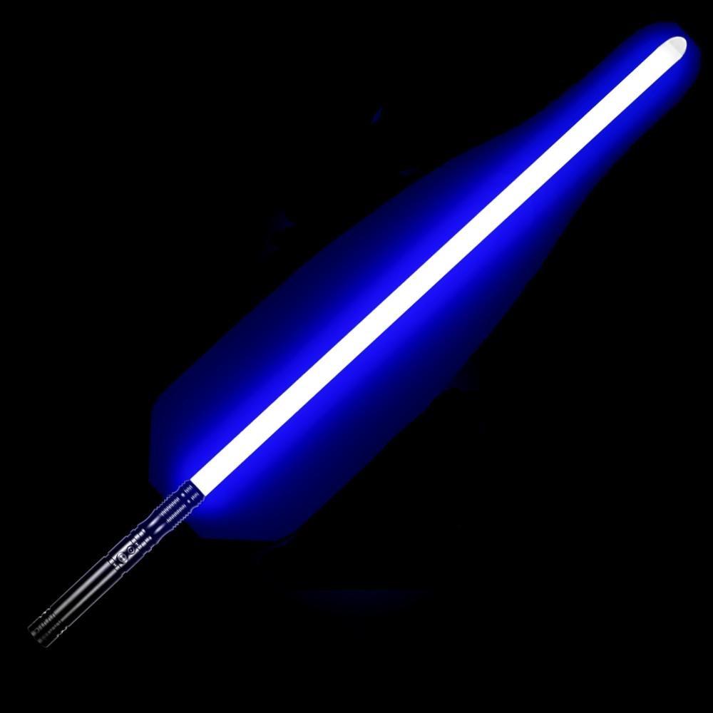 TXQsaber Flash On Clash Lightsaber RGB Force FX Heavy Dueling Color Changing Metal Handle Sound FOC Apprentice Light Saber