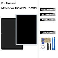 HZ-W19 lcd para huawei matebook HZ-W19 HZ-W09 HZ-W29 display lcd de toque digitador da tela vidro assembléia peças reparo