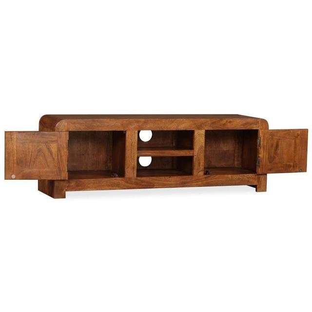 Solid Wood TV Cabinet  2