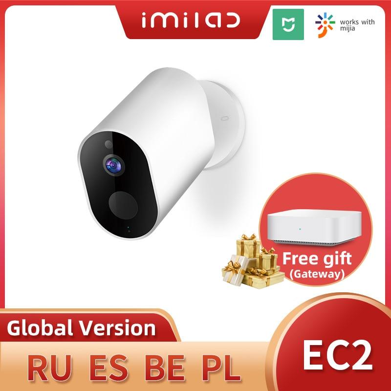 IMILAB EC2 IP Camera 1080P HD Wireless WiFi Camera Battery Power Smart Outdoor Security Camera CCTV Infrared Night Vision Camera