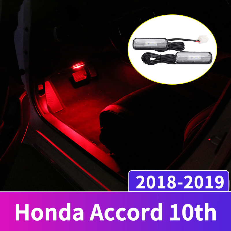 12V LED Car Interior Atmosphere Light Decoration Lamp Soles Ambient foot lights For <font><b>Honda</b></font> Civic <font><b>Accord</b></font> CRV <font><b>2018</b></font> 2019 <font><b>Accessories</b></font> image