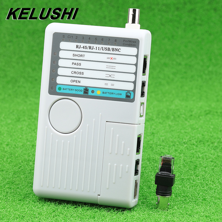 KELUSHI NF3468 Versatile 4 in 1 Cable Tester Cable Locator Finder Tracking Fiber Tool Network Tester