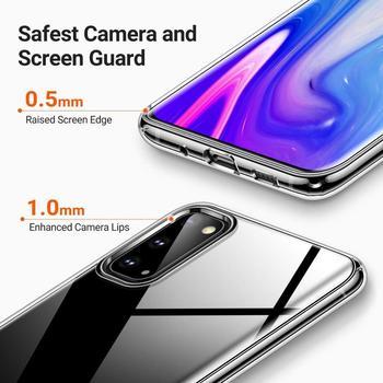 Para Samsung M21 alto claro TPU cajas del teléfono para Samsung Galaxy Nota 10 Lite 5G S10e S10 más S20 Ultra A51 A71 4G M21 A41 A01