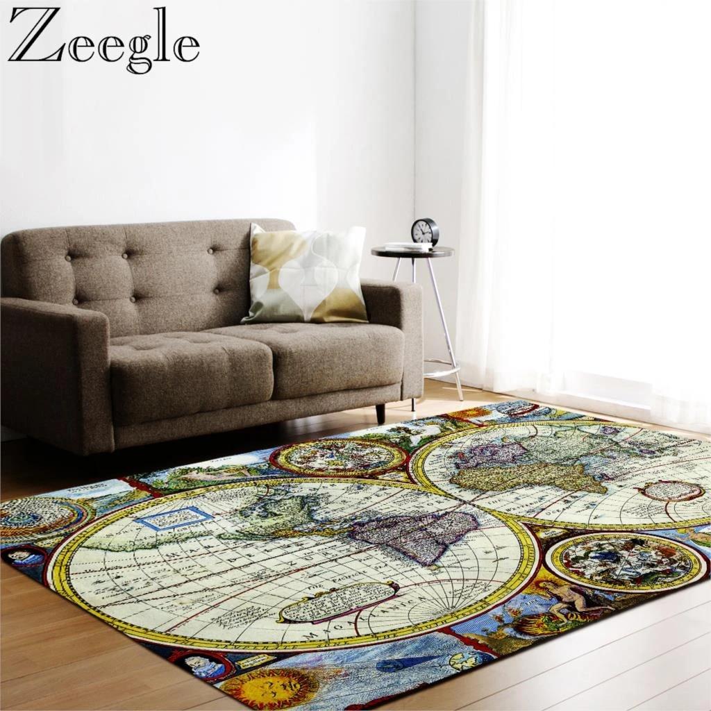 World Map Printed Carpets For Living Room Kids Bedroom Floor Carpet Rugs Office Chair Floor Mats Carpet Children Room Area Rug Carpet Aliexpress