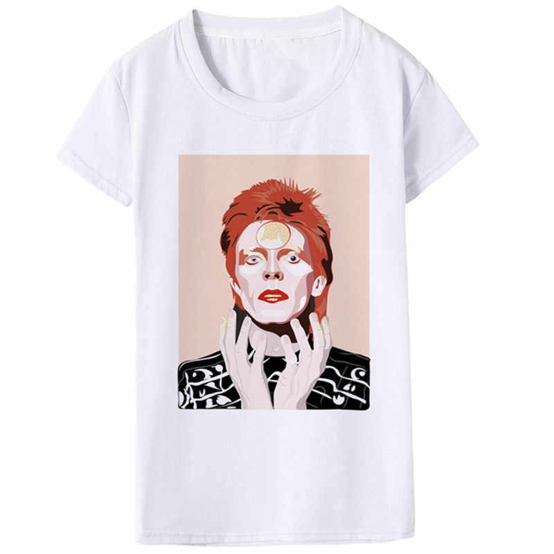 Luslos ใหม่ล่าสุด Hot ROCK เสื้อ T ผู้หญิง VINTAGE Hip Hop Streetwear เสื้อยืด Bad Guy ตลกพิมพ์ TShirt 90s tees หญิงเสื้อผ้า