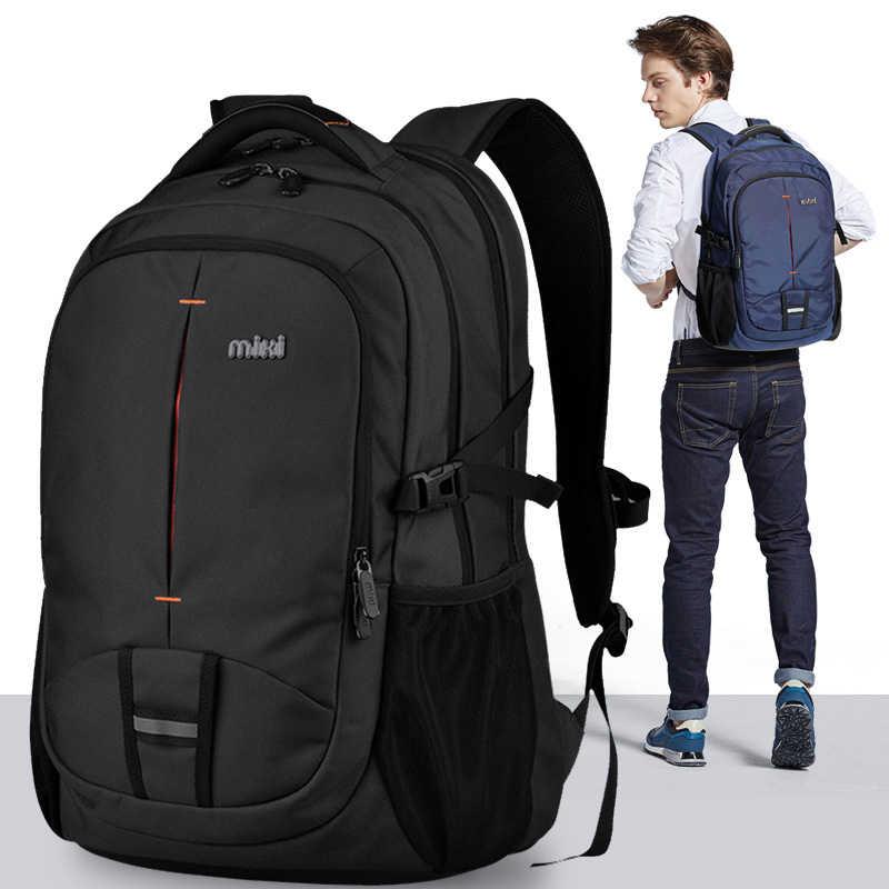 Mixi men mochila saco estudante faculdade computador saco feminino viagem meninos trabalho à prova dwaterproof água da escola de moda universidade mochila m5029