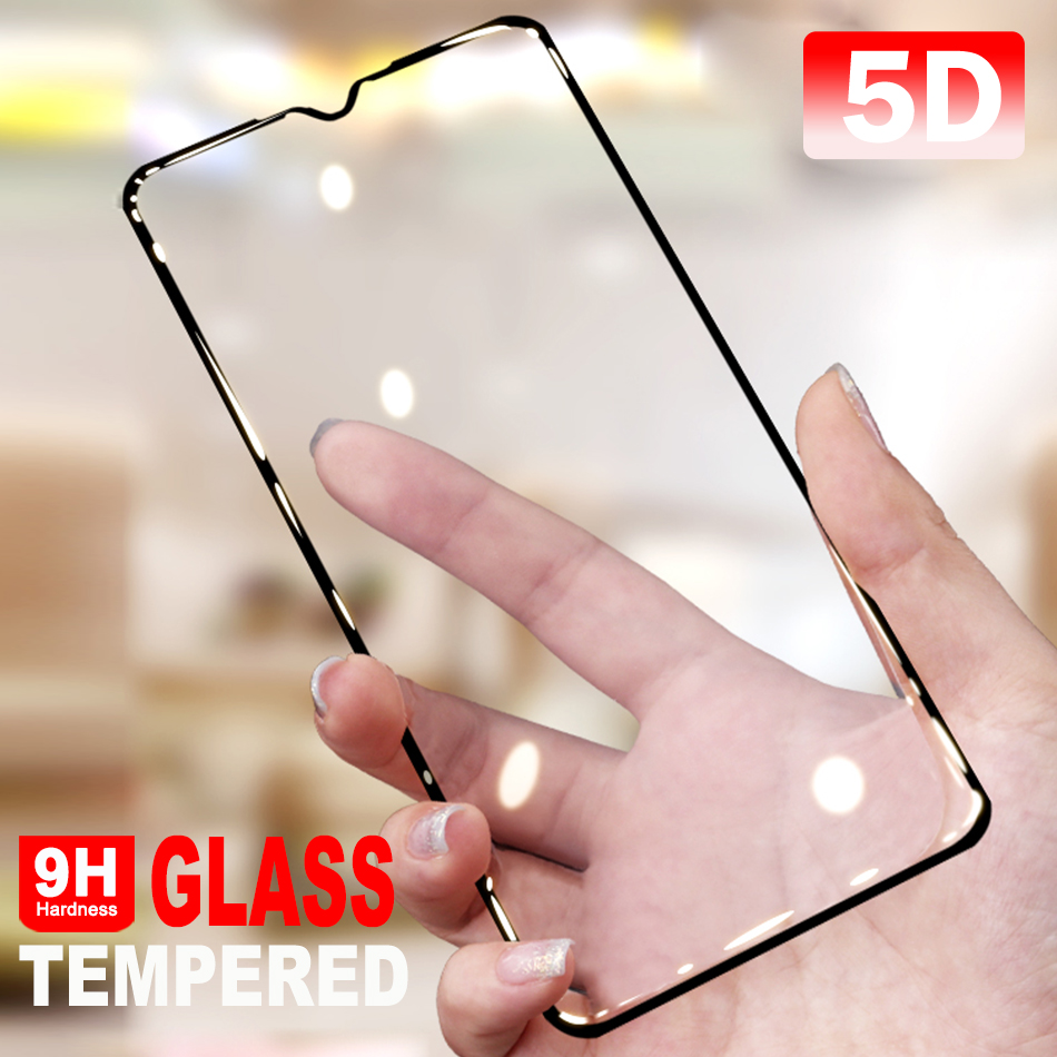 Redmi Note 8 Full Coverage Protective Glass For Redmi Note 8 Pro Screen Protector Full Tempered