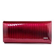HH Women Wallets and Purses Luxury Brand Alligator Long Genu