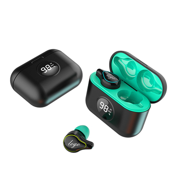 AK SE16S TWS auriculares Bluetooth 5,0 con caja de carga de 500mAh impermeable a prueba de sudor Bluetooth 5,0 auriculares deportivos auriculares LED