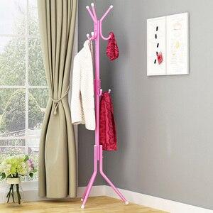 Image 5 - Clothes Hanger Tree Shaped Hat Coat Rack Metal Steel Tube Coat Hanger Saving Space Handbag Scarf Storage 9/12 Hook Clothes Stand