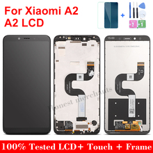 """5.99""""LCD Display Touch Screen Digitizer Assembly for Xiaomi A2/6x with Frame Replacement LCD Screen for Xiaomi A2/6x with Frame"""