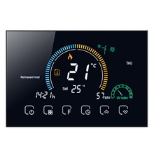 Voice APP Control Smart Programmable Thermostat Electric Heating Celsius/Fahrenheit Switchable Backlight Thermostat