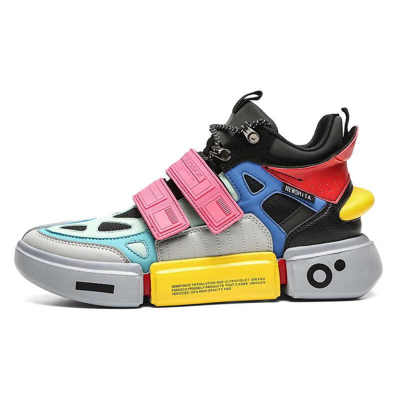Keer Nieuwe Romeinse Hoge Top Sneakers Hiphop Stijl Mannen Laarzen Mode Mannen Casual Schoenen Ademend Straat Schoenen Tiener Jongens