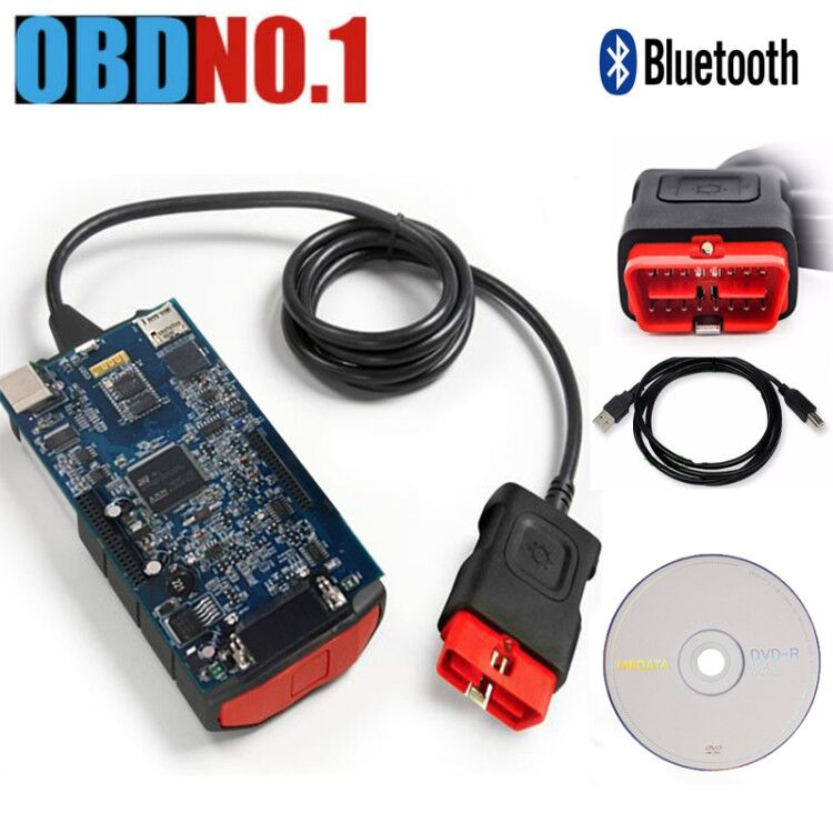 DS150 2015.r2 /r 3Auto Diagnostic Scanner OBD OBDII 2014 R2 Car With / Without Bluetooth