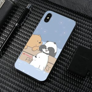 We Bare Ice Bear Panda Style For Samsung Galaxy A10 A30 A40 A50 A60 A70 S6 Active Note 10 Plus Edge M30 Silicone Bag Case