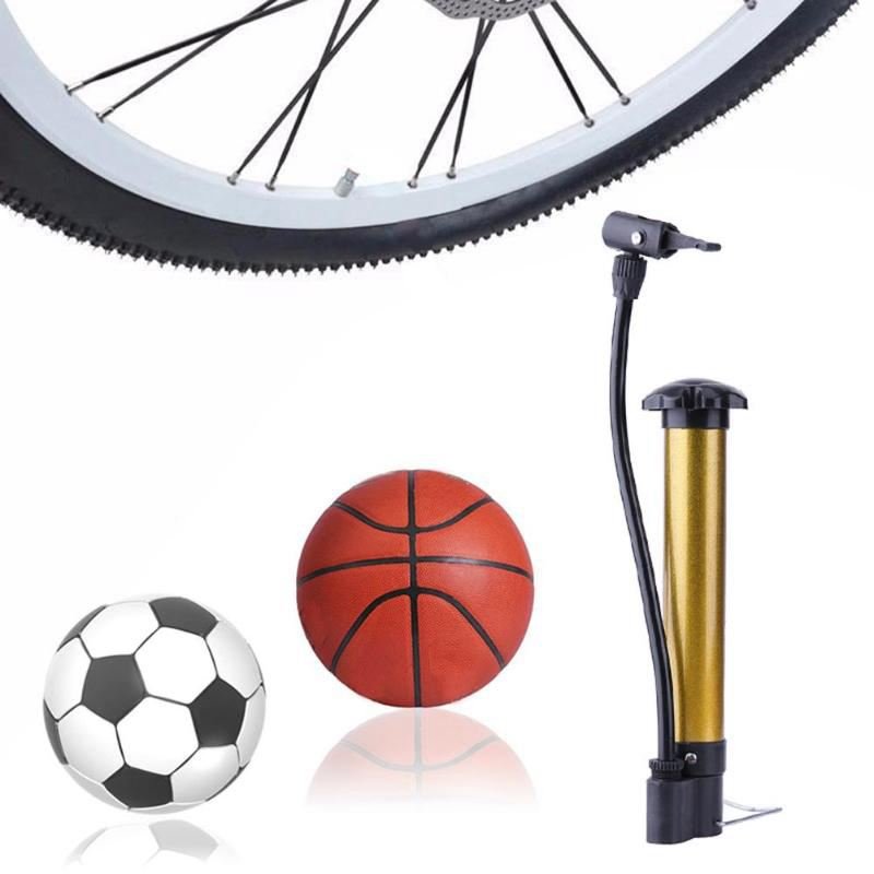 Hand  Football MTB Bike  Mini Bicycle Pump High Pressure Ball Tire Inflator