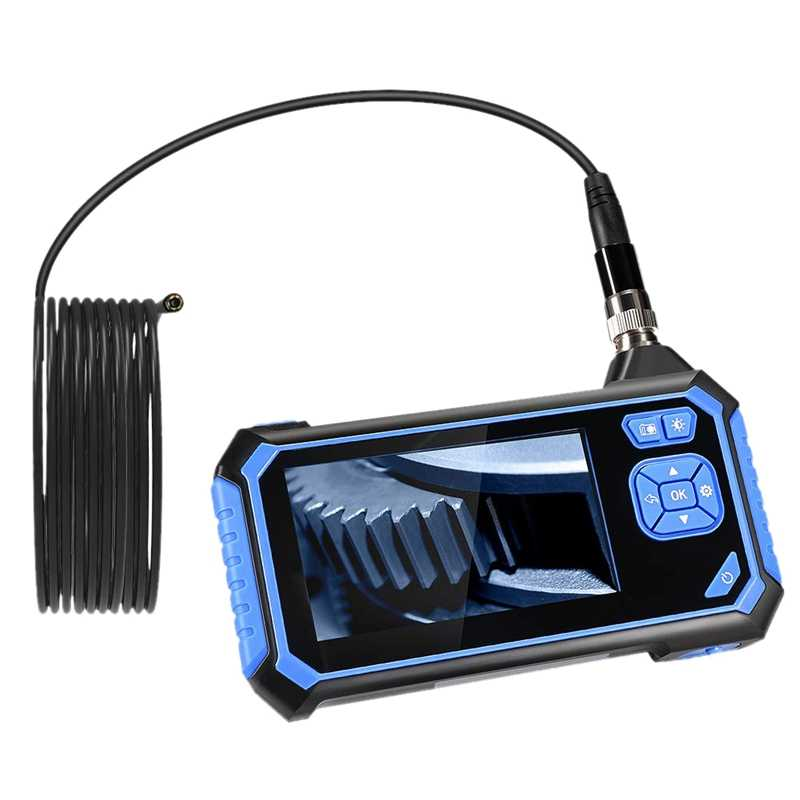 Endoscopio industriale Endoscopio portatile da 4,3 pollici Schermo LCD Endoscopio digitale