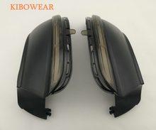 Intermitente dinámico para Volkswagen, indicador de espejo lateral para VW Passat B7 CC Scirocco LED, señal de giro EOS Light Beetle 2011 2014