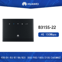Unlocked Huawei 4G Wireless Routers B315 B315s 22 3G 4G CPE Routers WiFi Hotspot Router with Sim Card Slot PK B310