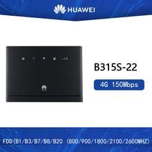 Huawei – routeurs sans fil B315 4G CPE déverrouillés, point d'accès WiFi, 3G/4G, avec emplacement pour carte Sim
