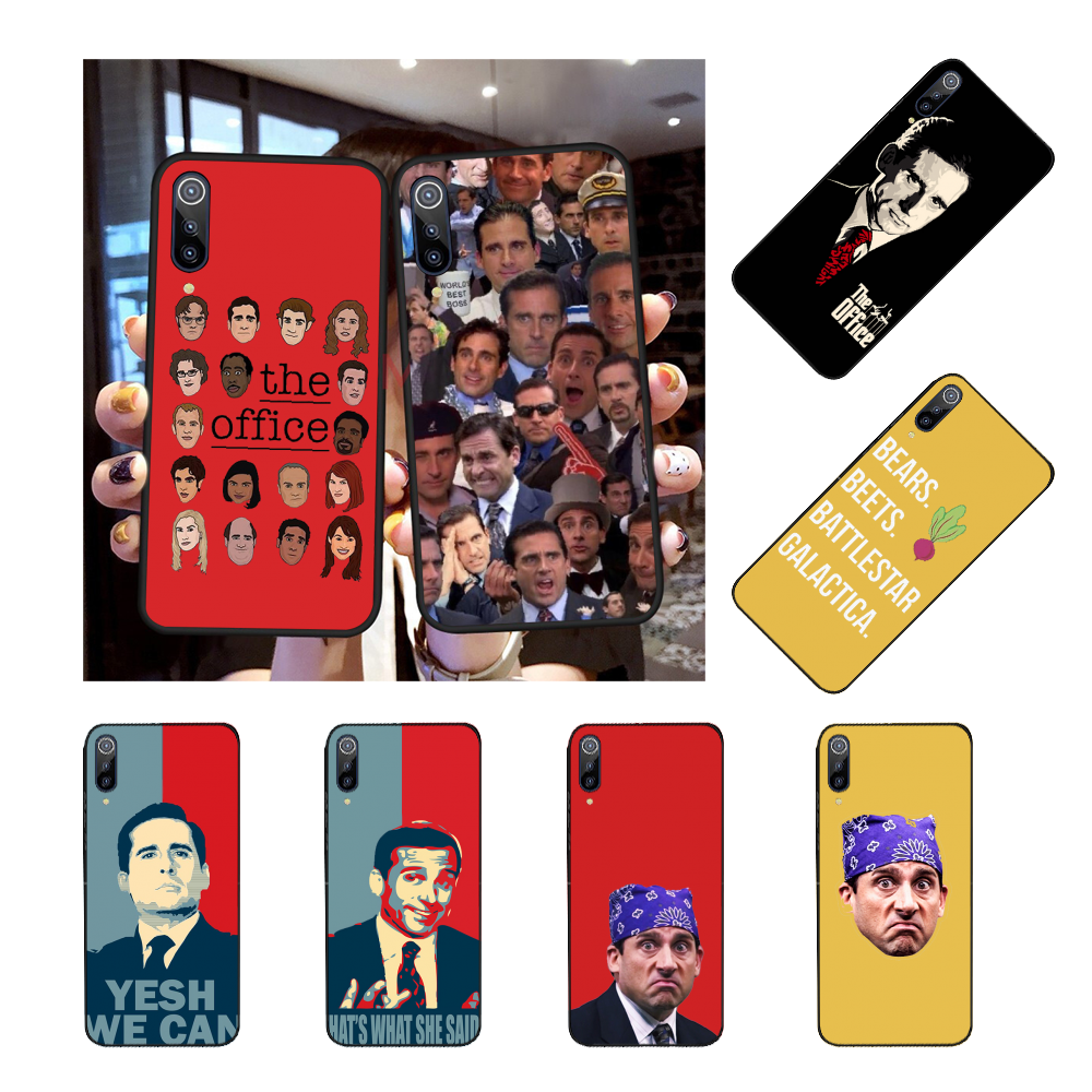 Nbdruicai Michael Scott The Office Funny Humor Silicone Phone Case
