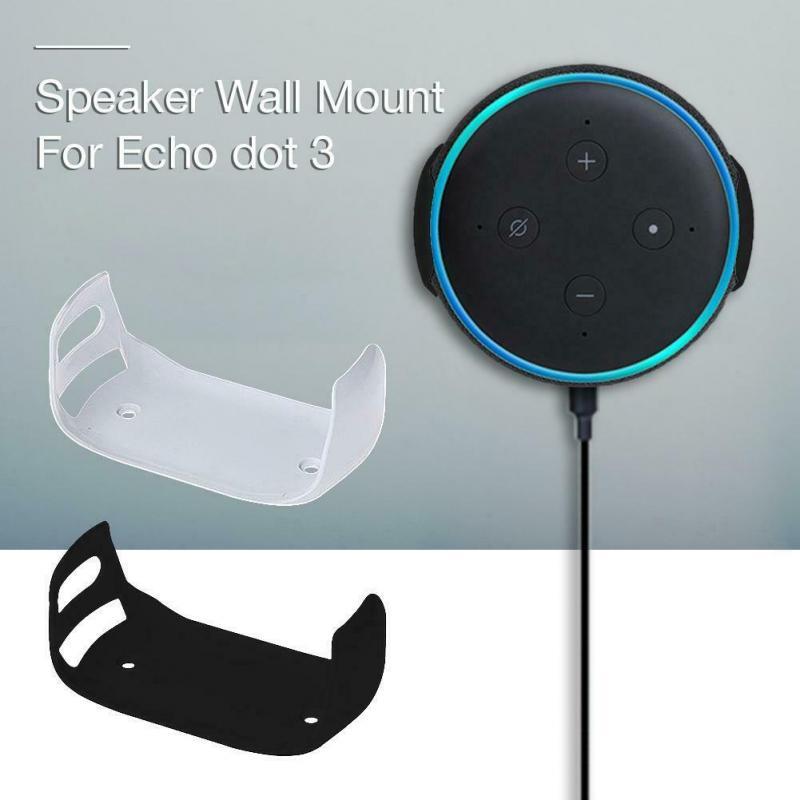 Mount Hanger Speakers Wall Mount Holder Intelligent Audio Bracket Outlet Stable Holder For Echo Dot 3
