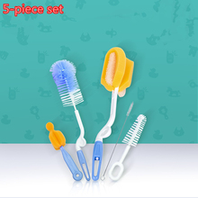 Creative bottle brush unique design baby scrub cleaning tool kitchen cleaner washing clean brand