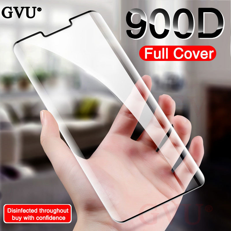 900D Curved Tempered Glass On The For Huawei P30 PRO Lite Screen Protector Protective Glass On Huawei Mate 20 30 Pro Lite Glass