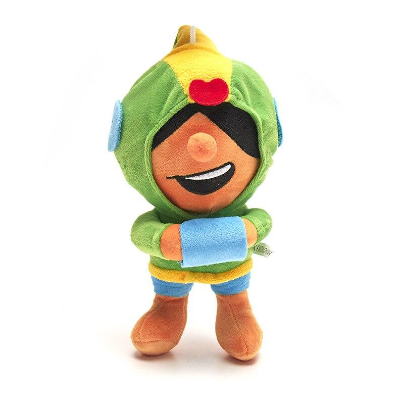 7PCS Brawl Games Anime Cartoon Star Hero Figure Spike Shelly PRIMO MORTIS Toy Model Boy Toy Gift